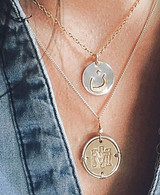 ن CHRISTIAN NECKLACE