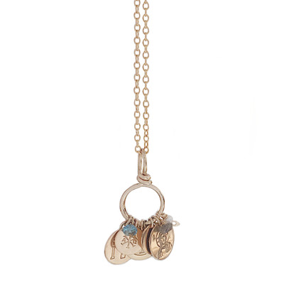 BEARER OF CHARMS NECKLACE