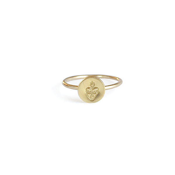 Immaculate heart ring