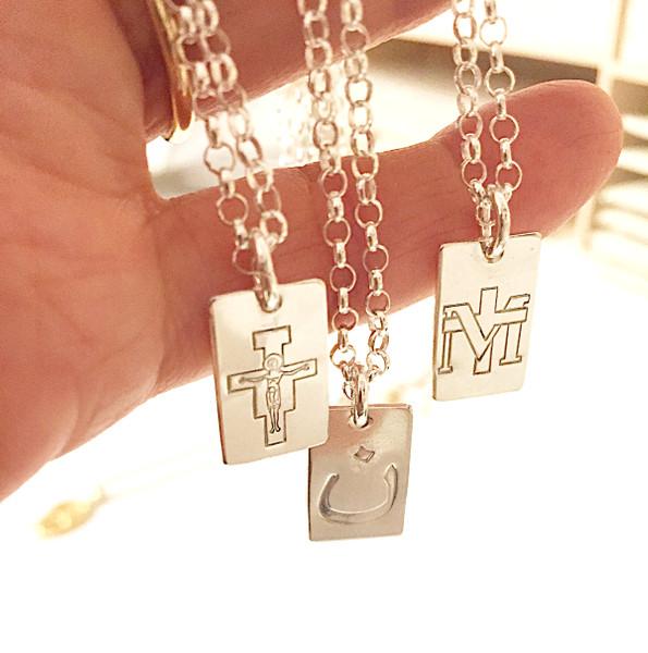 mens catholic jewelry, catholic jewelry for men, christian jewelry for men, nazarene nun symbol necklace for men