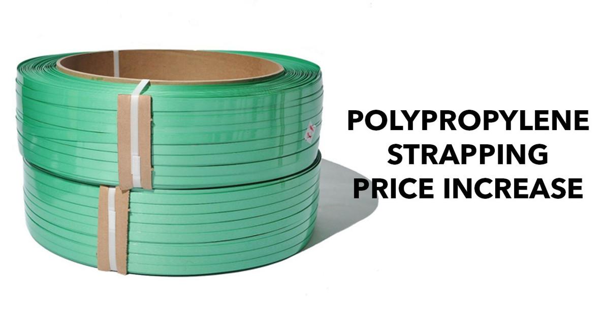 2021 Polypropylene Strapping Price Increase