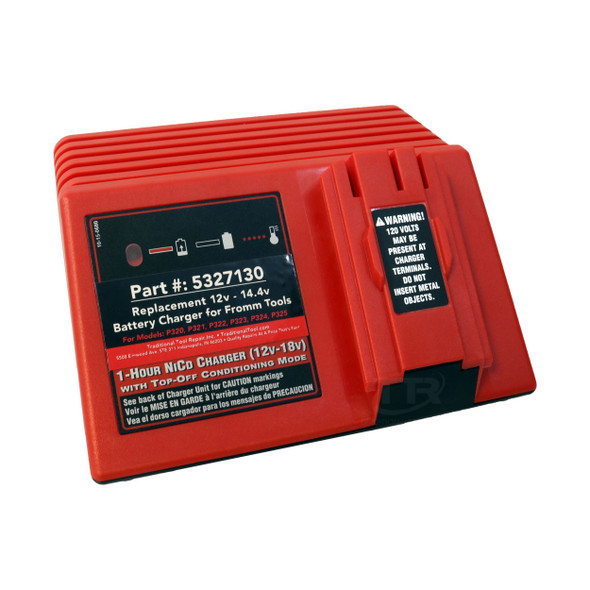 5327130 Replacement 12V - 14.4V Battery Charger for Fromm Tools