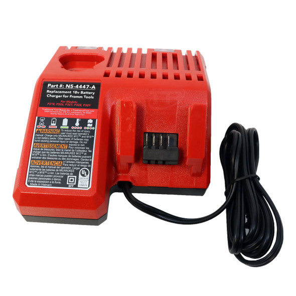 N5-4447-A Replacement 18v Battery Charger For Fromm Strapping Tools