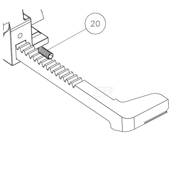 MIP M1800-20 Set Screw