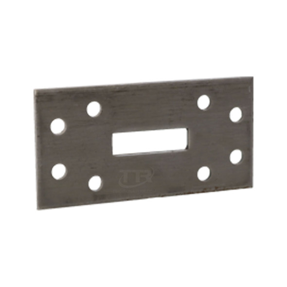 "2"" x 4"" x .125"" Steel Anchor Plates 250/Case"