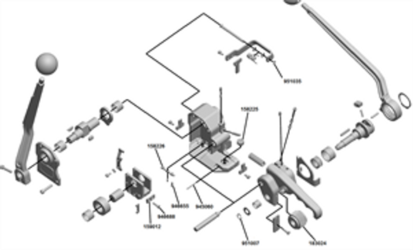 143051 Repair Kit for Josef Kihlberg JK1219 & JK1219HT Steel Banding Tools