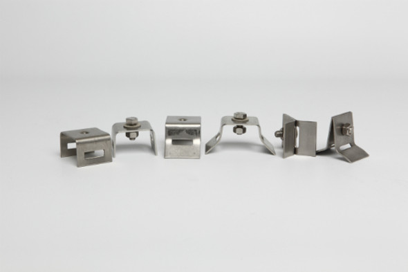 Stainless Steel Mounting Brackets For Signposts 100/Case