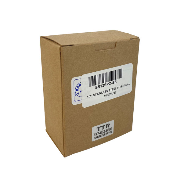 Stainless Steel Pusher Seals 100/Pack