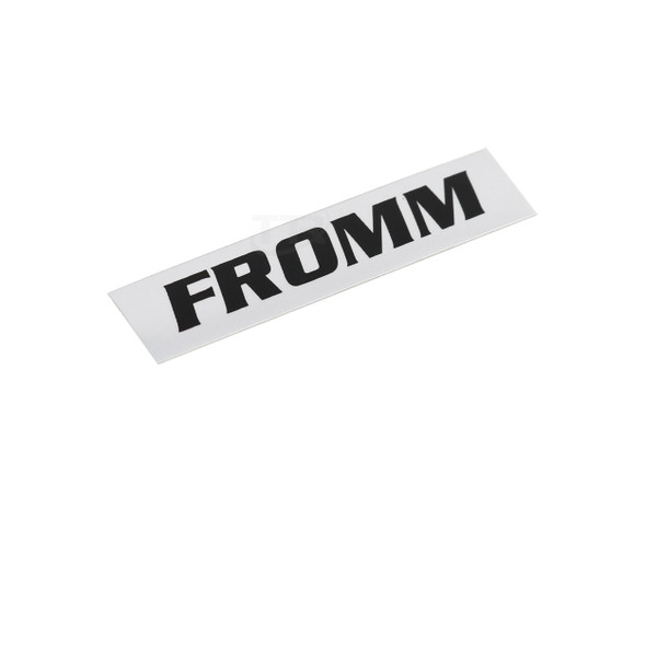 Fromm N4-9108 Brand Adhesive Label