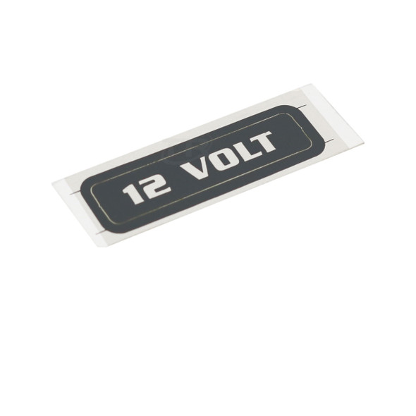 Fromm N41-9159 12 Volt Adhesive Label
