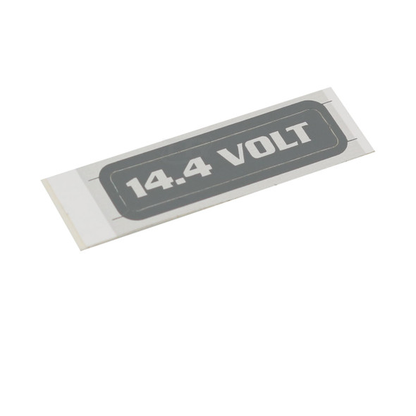 Fromm N41-9160 14.4 Volt Adhesive Label