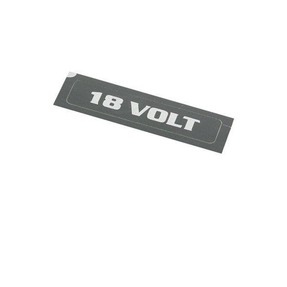 Fromm N43-9192 18 Volt Adhesive Label