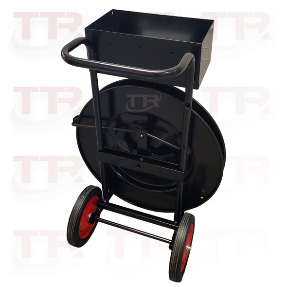 DF14-E PET or STEEL Strapping Dispenser with Oversize Tool Tray