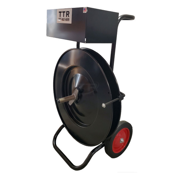 DF14-E Strapping Dispenser with Oversize Tool Tray