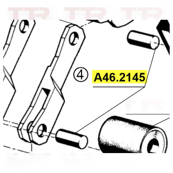 Fromm A46-2145U Lever Bolt - RECONDITIONED