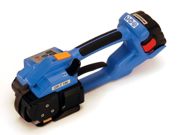 Orgapack ORT-100 Sealless Battery Powered Plastic Combination Strapping Tool
