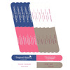 Tropical Shine Colossal Nail File 4-Way Buffer (Medium/Fine - Smooth/Shine) - Case Pack of 50