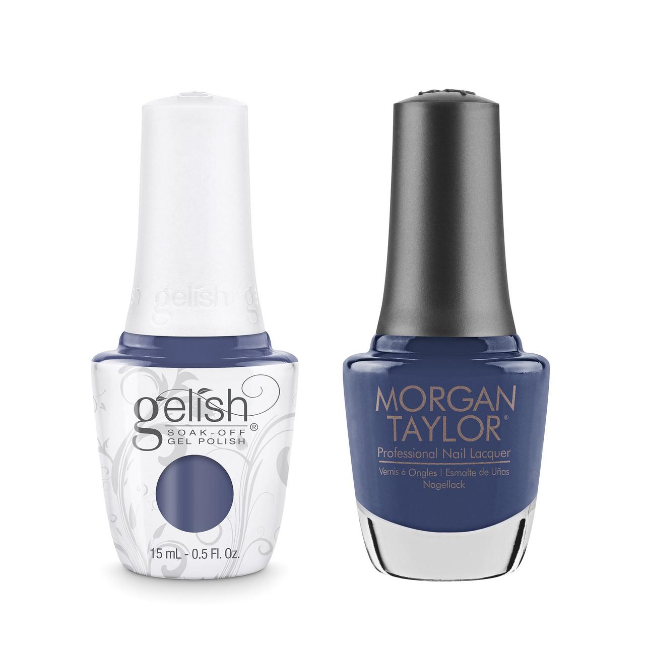 "Gelish & Morgan Taylor Two of a Kind ""Flirt In A Skating Skirt"" - 1410243"