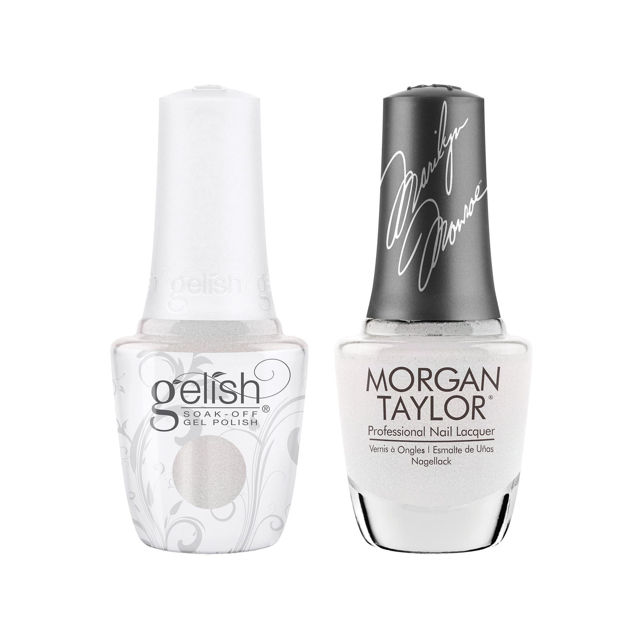 """Gelish & Morgan Taylor Two of a Kind """"Some Girls Prefer Pearls"""""""