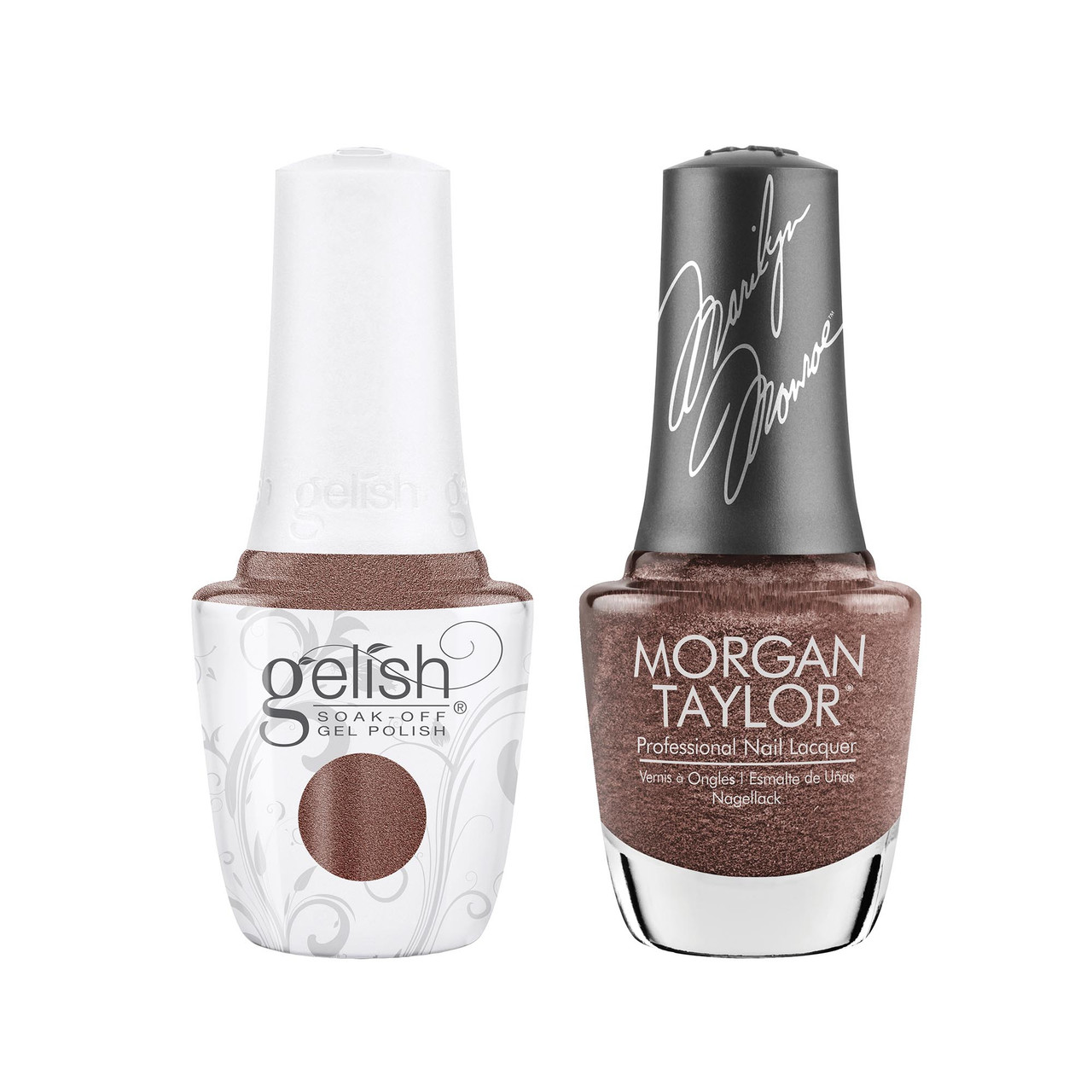 """Gelish & Morgan Taylor Two of a Kind """"That's So Monroe"""""""