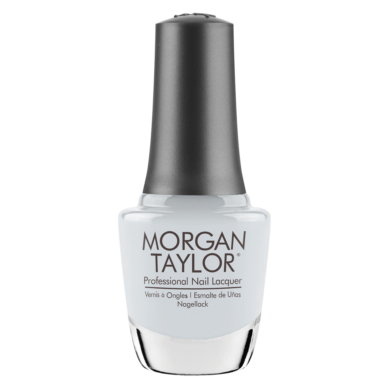 """Morgan Taylor """"In The Clouds"""" Nail Lacquer - Lightest Blue Crème"""