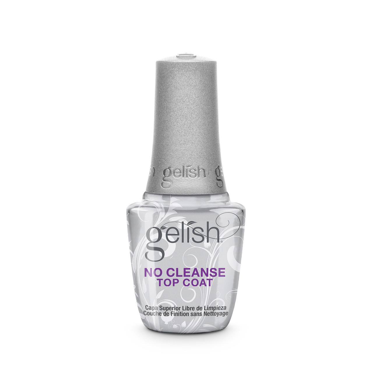 Gelish No Cleanse Soak-Off Gel Top Coat, 15 mL | .5 fl. oz.