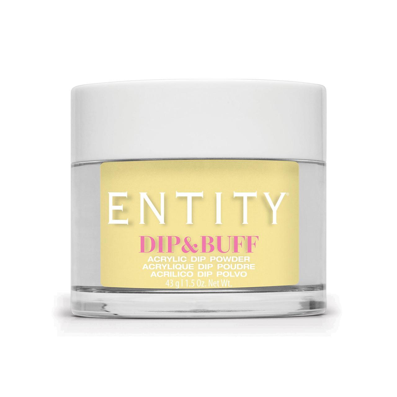 "Entity Dip & Buff ""Statement Sunnies"" - Yellow Iridescent, , 43 g.| 1.5 oz."