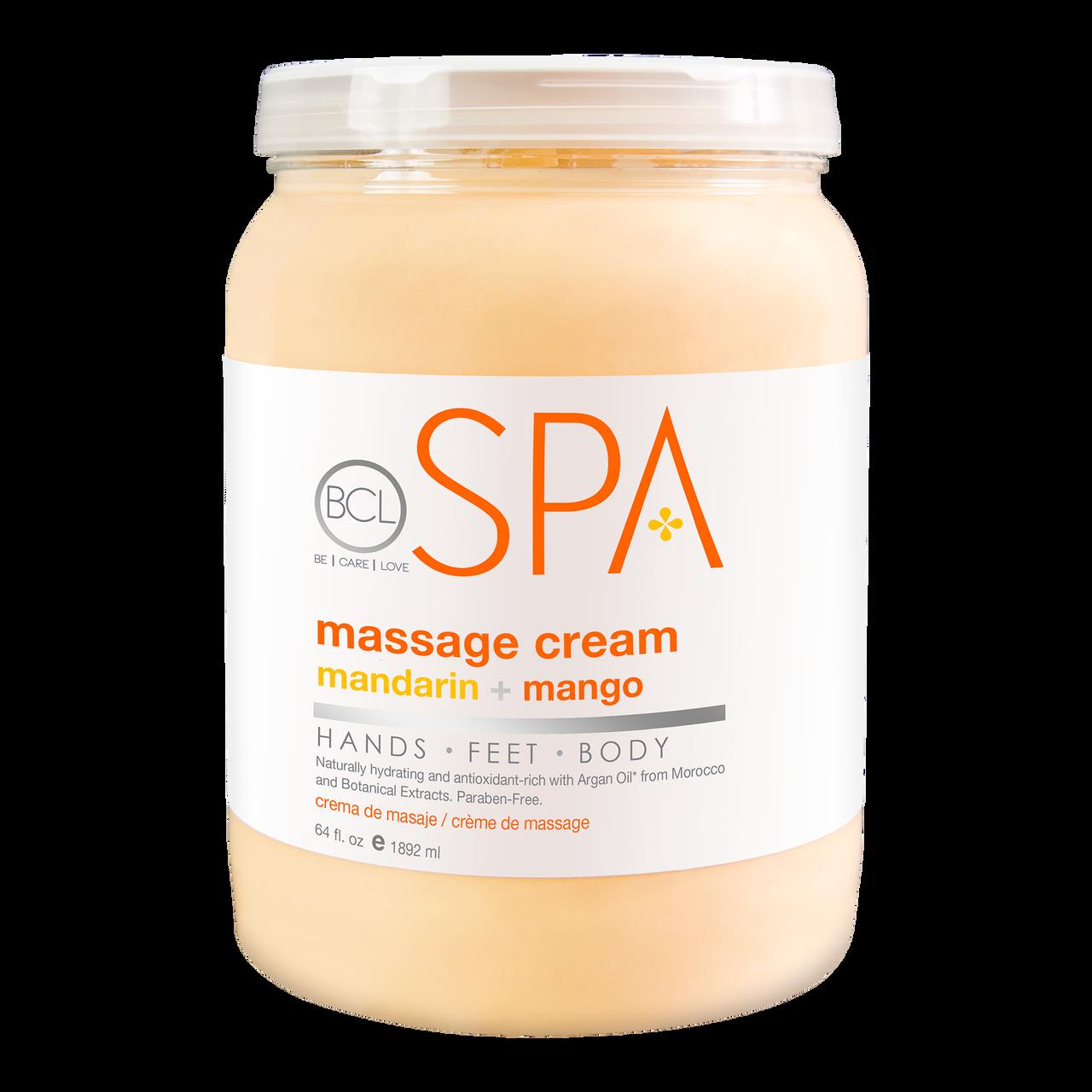 BCL SPA 64 oz. Massage Cream Mandarin + Mango