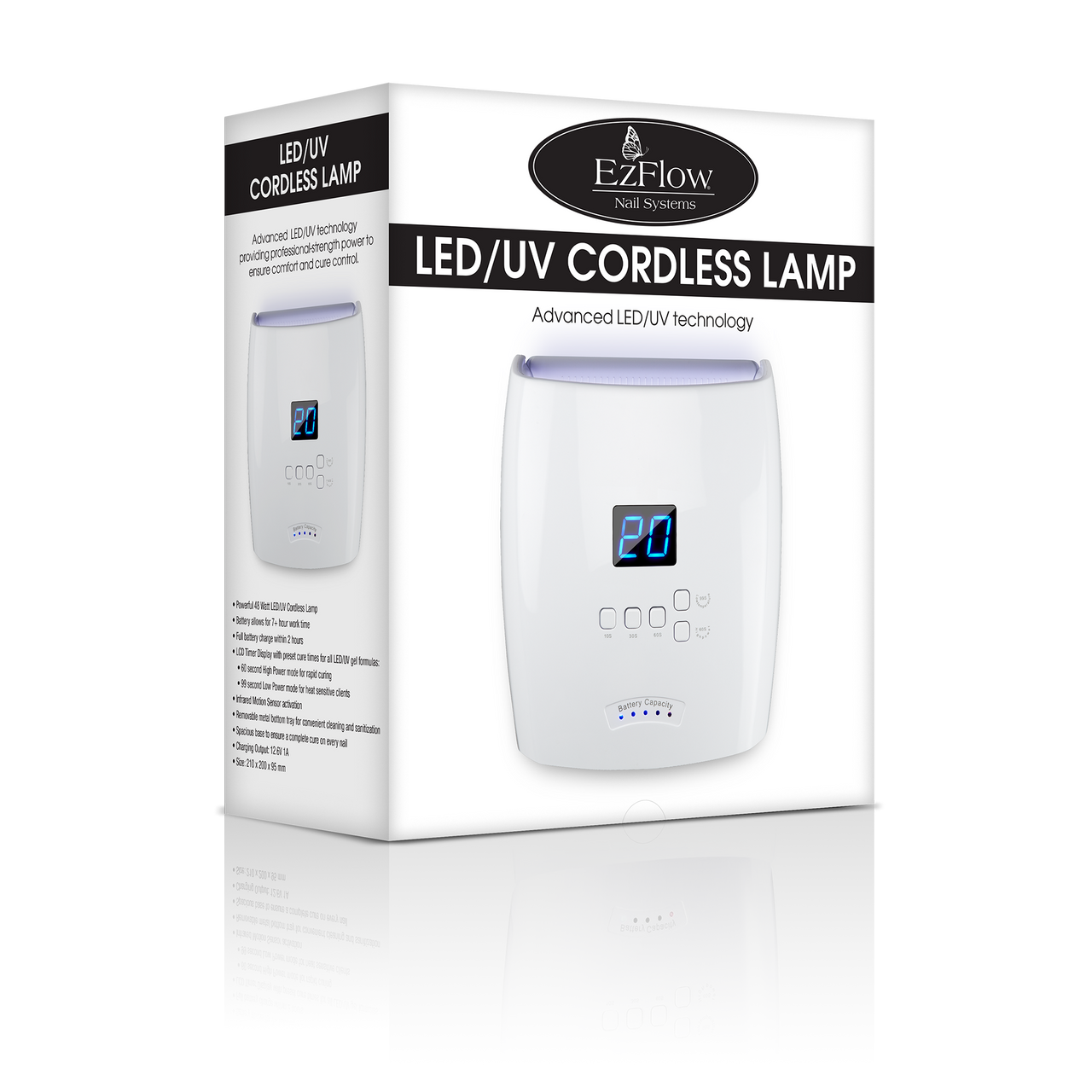 EZ Flow PRO Cordless LED/UV Lamp