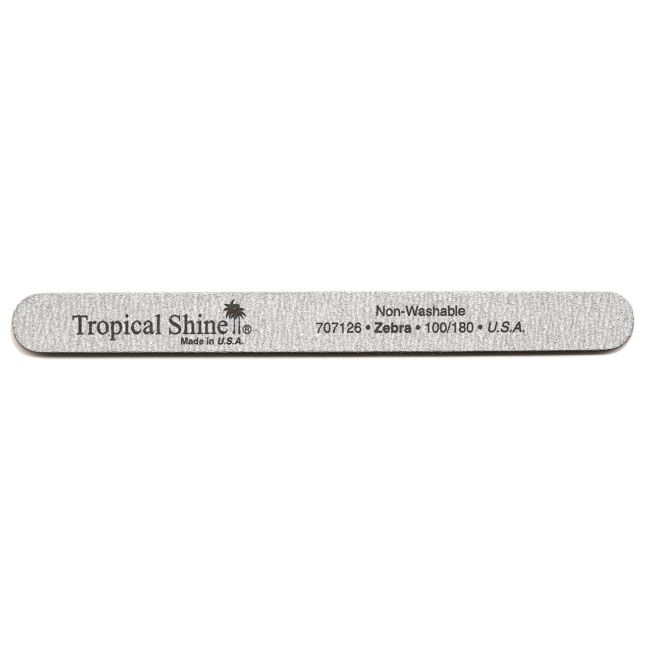 Tropical Shine Zebra File 100/180 Grit (Coarse/ Medium)