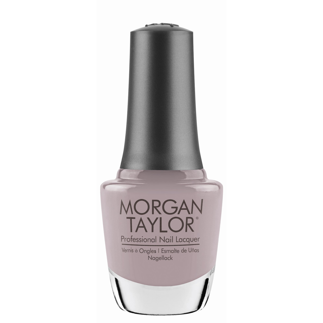 "Morgan Taylor Nail Lacquer ""Keep 'Em Guessing"" - Taupe Crème - 15 mL | .5 fl. Oz."
