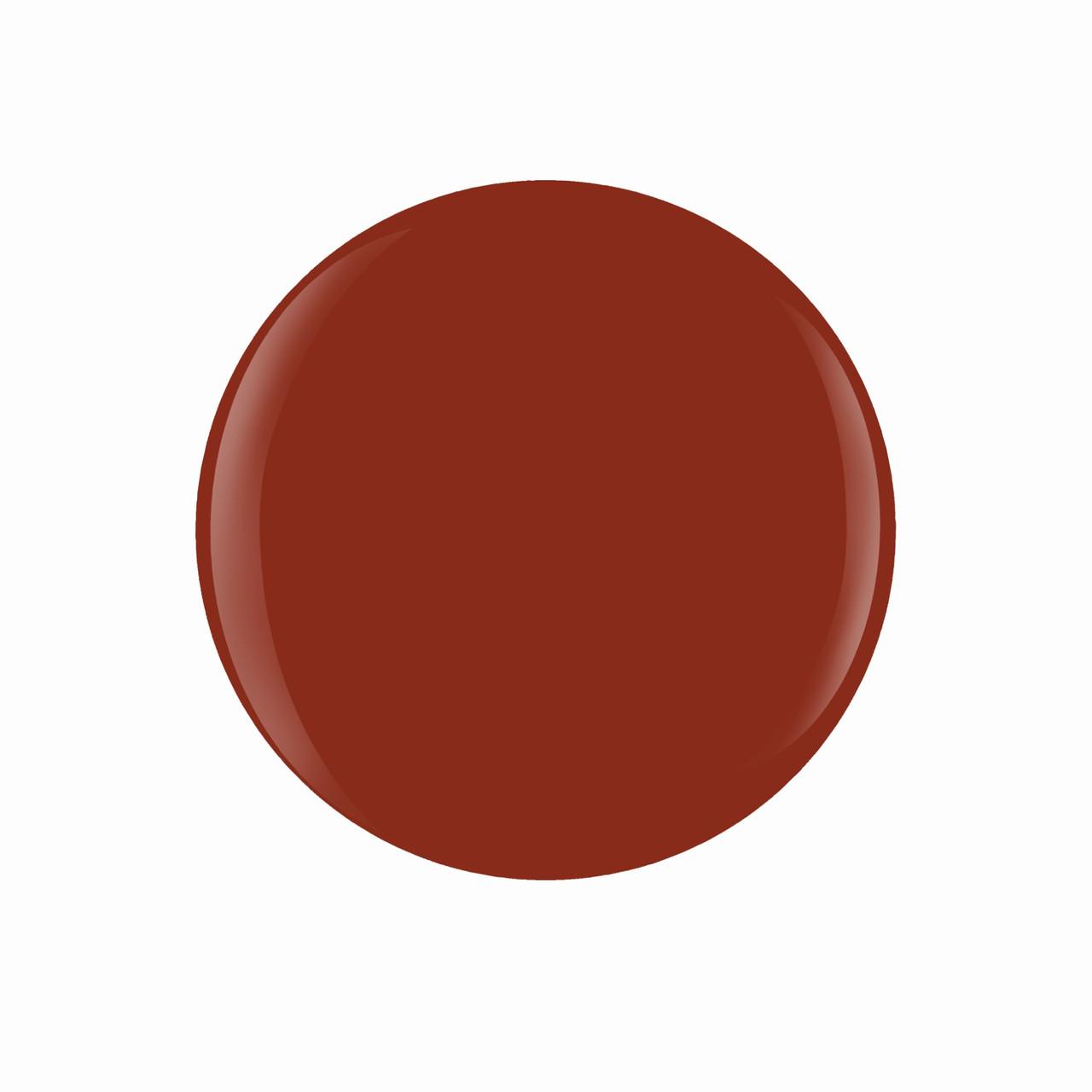 "Gelish Xpress Dip ""Afternoon Escape"" - Burnt Orange Crème - 43g   1.5 oz."