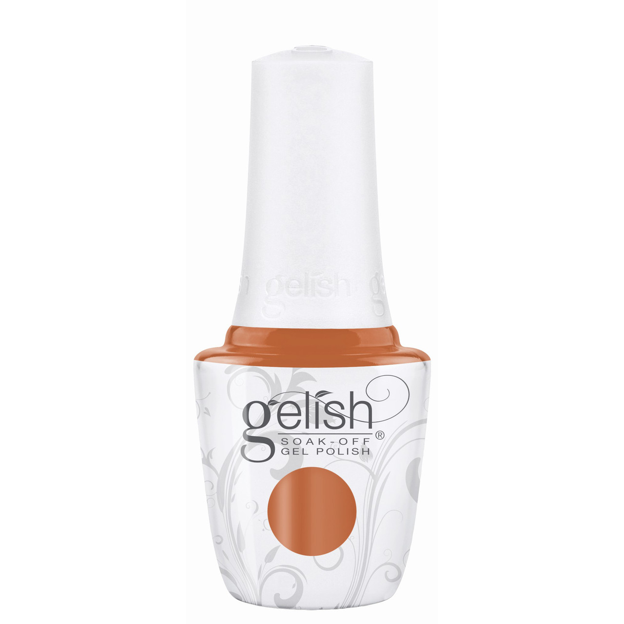 """Gelish """"Catch Me If You Can"""" 2 pc. Duo - Soak Off Gel Polish and Lacquer - Pumpkin Creme"""