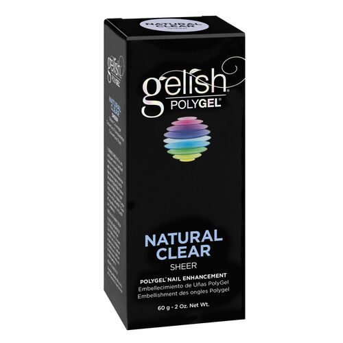 Gelish Polygel Natural Clear, 60g | 2 oz. - 1712001