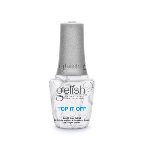 "Gelish Foundation & Top It Off with ""My Other Wig Is A Tiara"" Soak-Off Gel Polish"