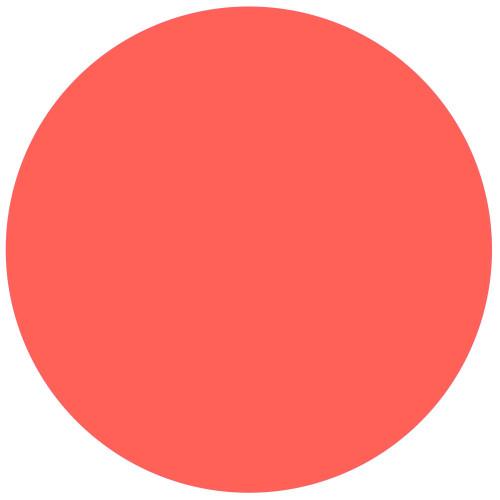 "Artistic Nail Design ""Glow Big Or Go Home"" - Bold Medium Pink Crème Colour Gloss LED Soak Off Gel Color, 15 mL   .5 fl oz"
