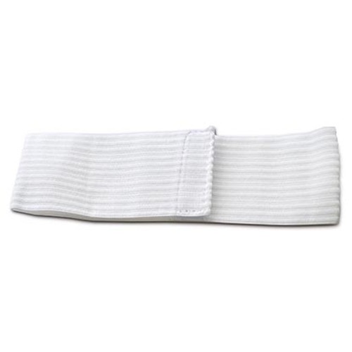 "Intrinsics 400656 - 48 ct. Disposable Head Bands, 2.5"" wide x 15"" long, white"