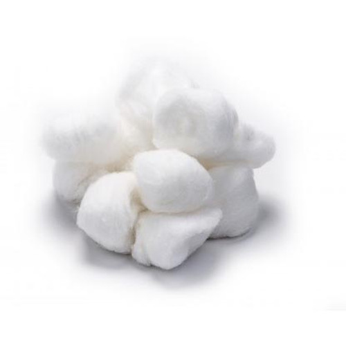 Intrinsics 186134 - 1500 ct. Bulk Cotton Balls, medium, med-sized, 100% Naturelle™ cotton
