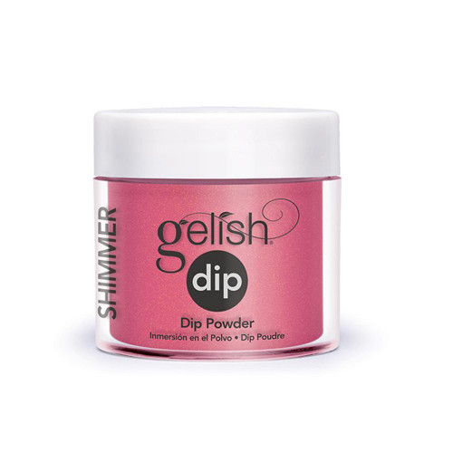 Gelish Professional Grade Salon Quality DIY Acrylic Dip Powder Starter Kit Set of 3 Colors with Free Nail File, The Pink Collection - 9 PC.