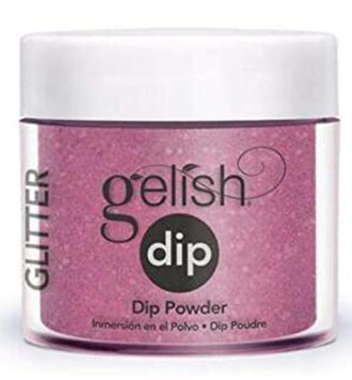 Gelish Professional Grade Salon Quality DIY Acrylic Dip Powder Starter Kit Set of 3 Colors with Free Nail File, Glitter Collection v.2 - 9 PC.