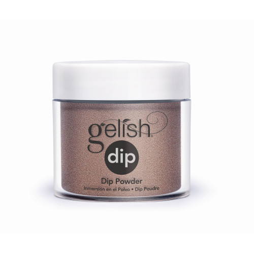 Gelish Professional Nail Dip Starter Kit with Chocolate Shimmer Color