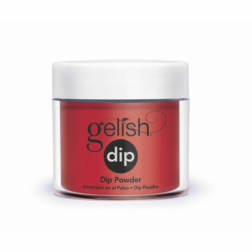 Gelish Professional Nail Dip Starter Kit with Bright Red Creme Color
