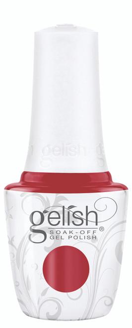 Gelish Professional Soak Off Gel Polish Starter Kit with Bright Red Creme Color