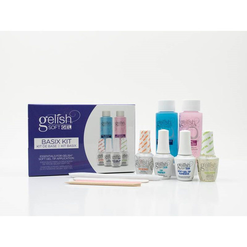 Gelish Soft Gel Bundle - Medium Coffin Kit