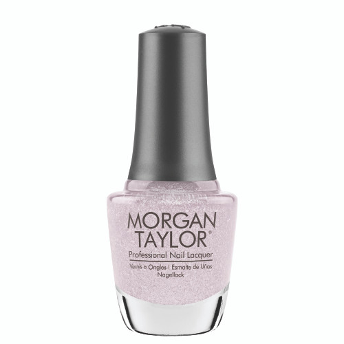 "Morgan Taylor ""Don't Snow-Flake On Me"" - Light Purple Metallic with Chunky Glitter, 15 mL 