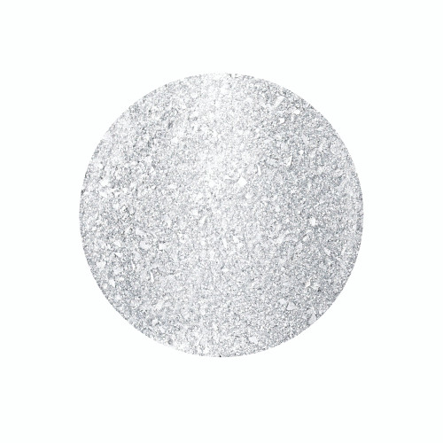 "Gelish Xpress Dip ""Liquid Frost"" - Silver Metallic With Chunky Glitter, 43g 