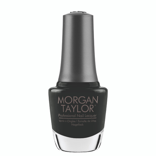 "Morgan Taylor ""Fa-La-Love That Color!"" - Charcoal Green Creme, 15 mL 