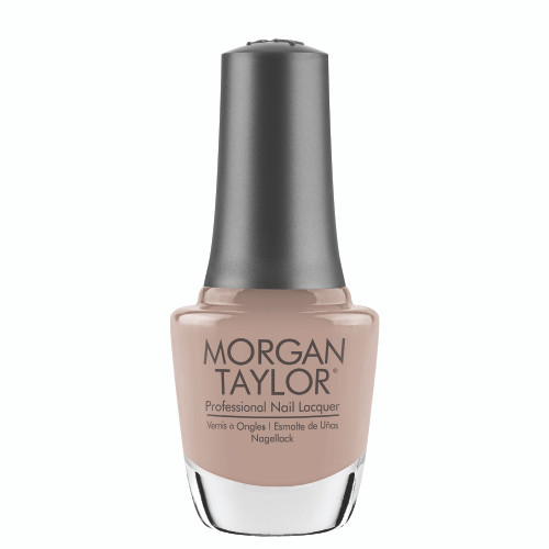 "Morgan Taylor ""Bare & Toasty"" - Tan Creme, 15 mL 