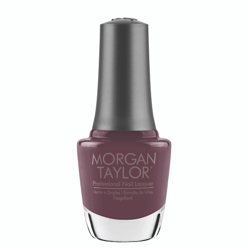 "Morgan Taylor ""Be My Sugarplum"" - Dark Mauve Creme, 15 mL 