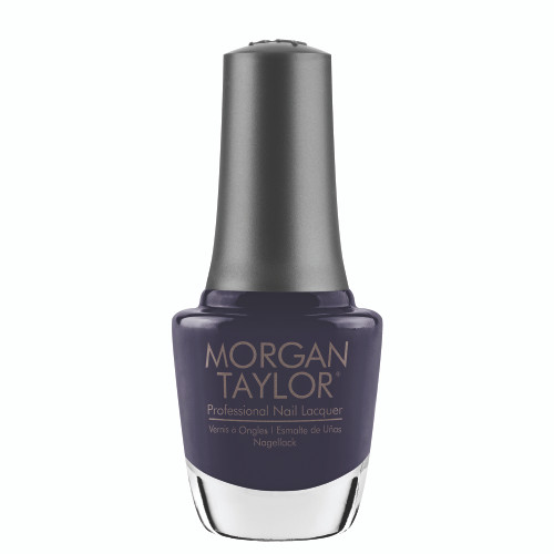 "Morgan Taylor ""Midnight Sleigh Ride"" - Dusty Blue Creme, 15 mL 